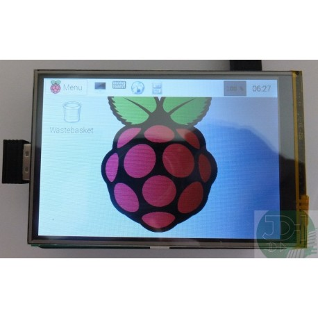 3.5-inch LCD TFT color Display Touchscreen for Raspberry Pi