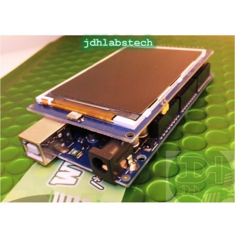 3.2-inch UTFT Display Shield 480x320 for Arduino Mega
