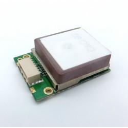 Compact GPS + Galileo module with embedded High sensitivity antenna TTL NEMA0803