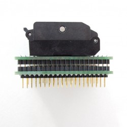 QFP32 to DIP32 ZIF socket adapter