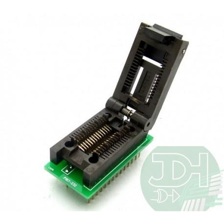 SOP28 to DIP28 ZIF socket adapter