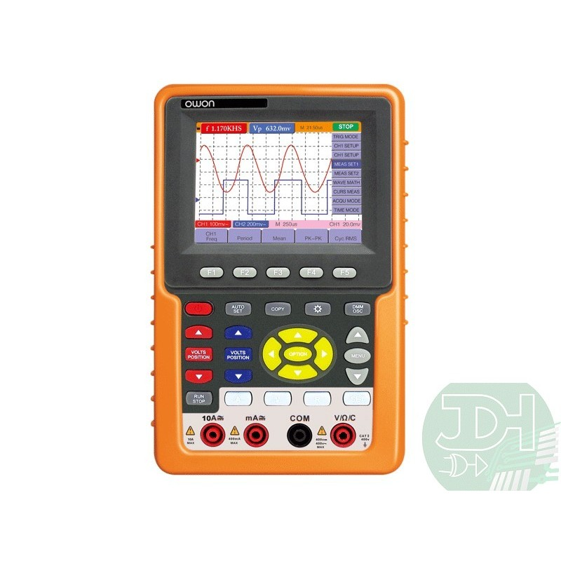 Portable Digital Oscilloscope : Handheld digital oscilloscope ch mhz multimeter case