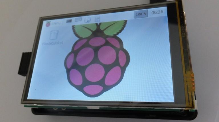 Pantalla de 3.5 pulgadas para Raspberry Pi